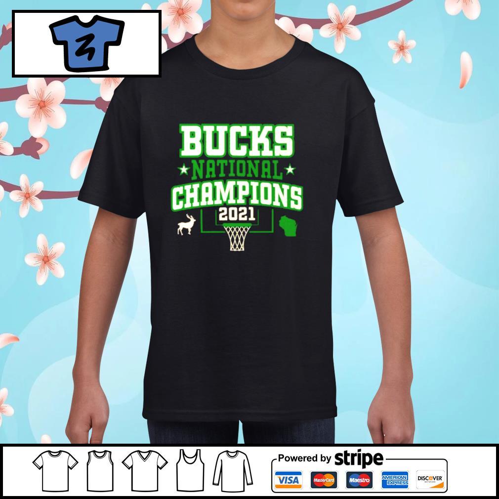 Bucks National Champions NBA 2021 shirt, hoodie, sweater ...