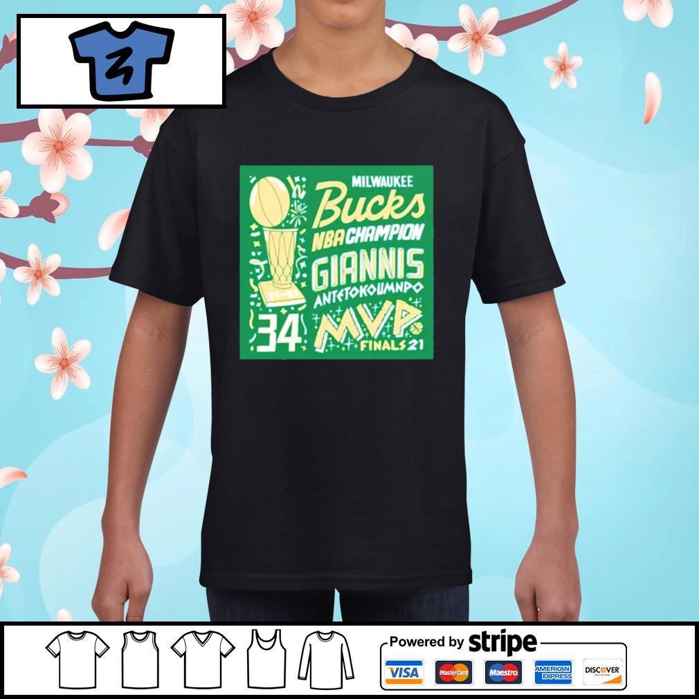 Milwaukee Bucks NBA Champion Giannis Antetokounmpo MVP ...