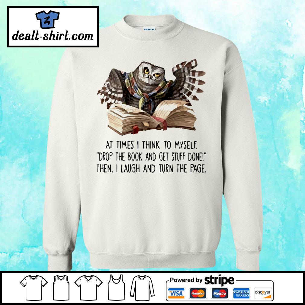 At times I think to myself Crewneck s sweater