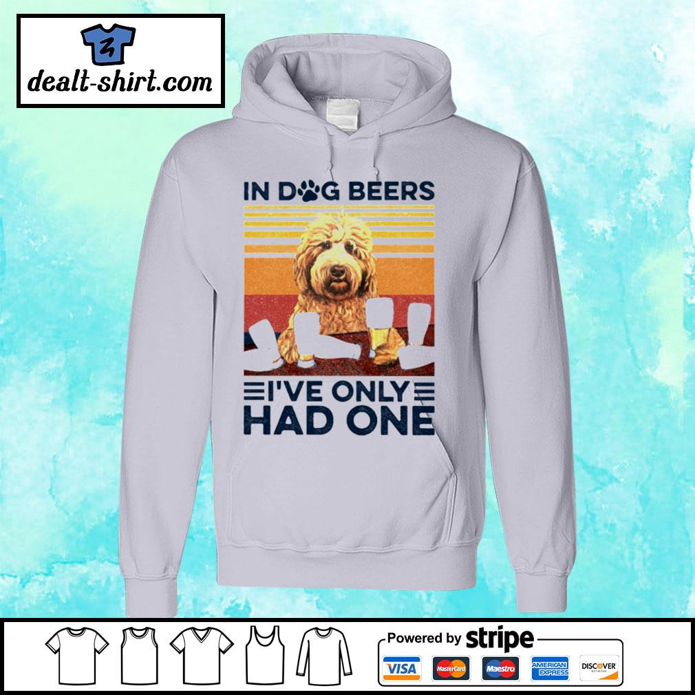 Goldendoodle Only Had One Vintage Shirt hoodie