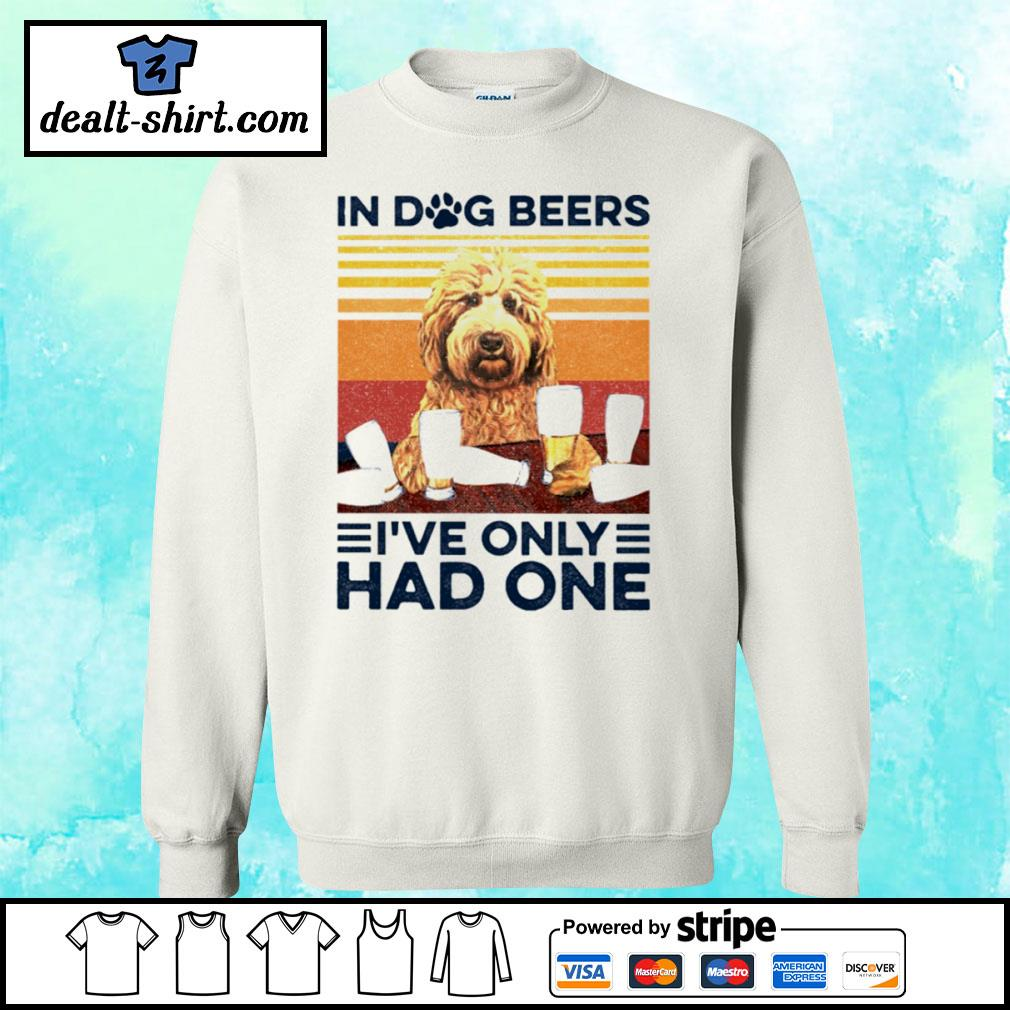 Goldendoodle Only Had One Vintage Shirt sweater
