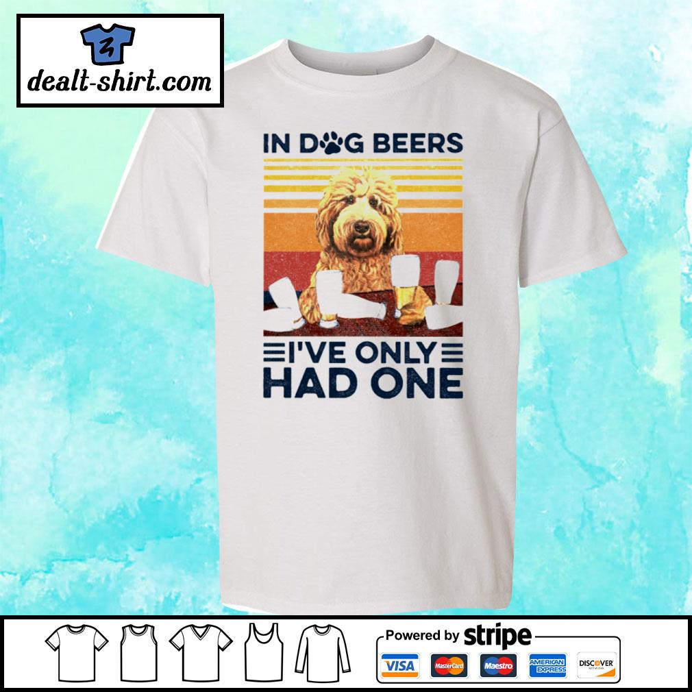 Goldendoodle Only Had One Vintage Shirt youth-tee