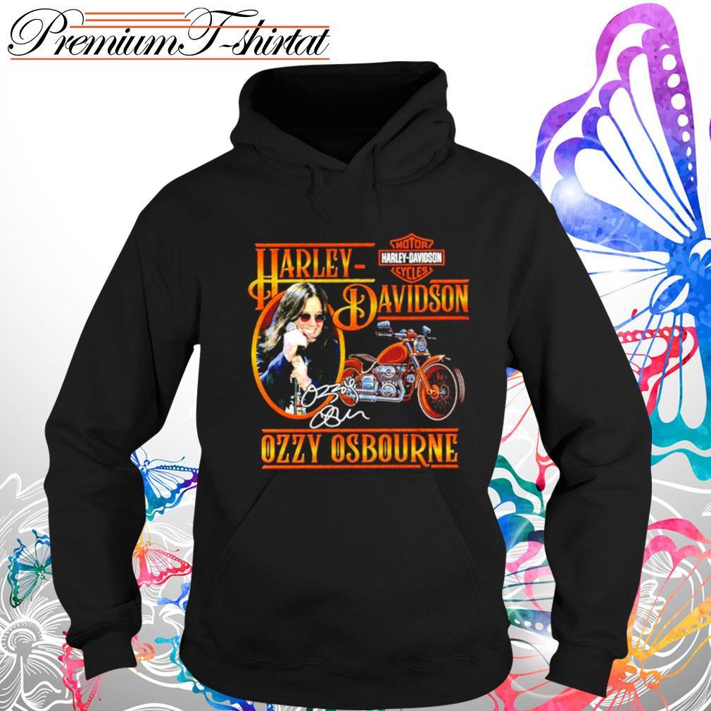 Harley Davidson Ozzy Osbourne signatures s hoodie-3