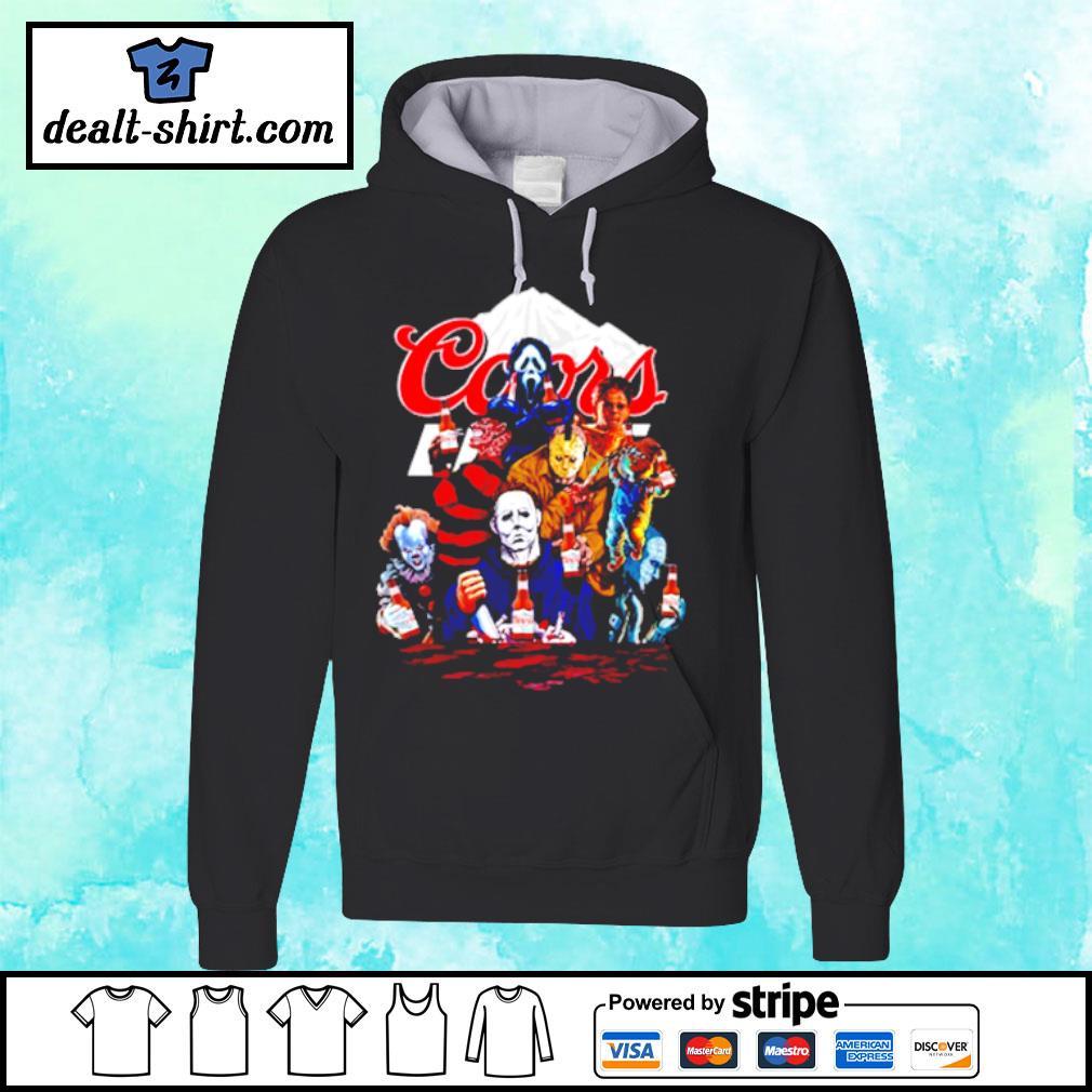 Honor Characters Coors Beer Shirt hoodie