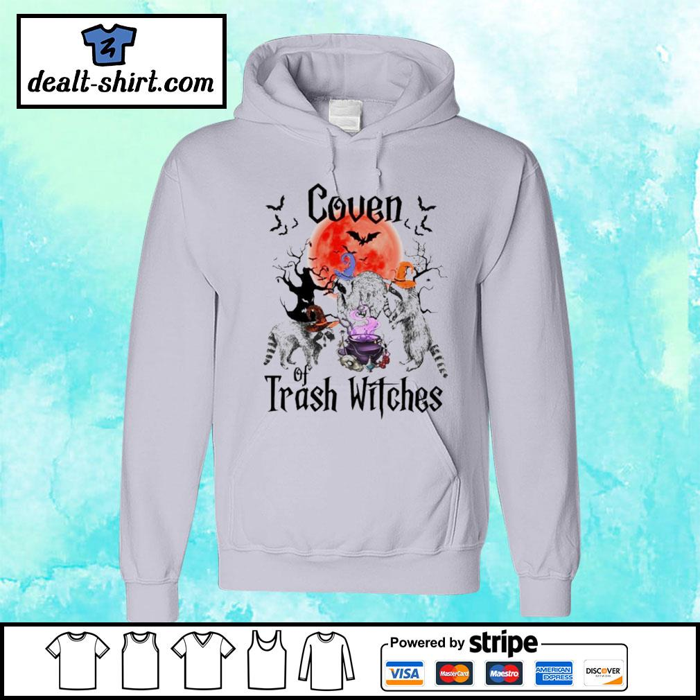 Coven Of Trash Witches Raccoon Halloween s hoodie