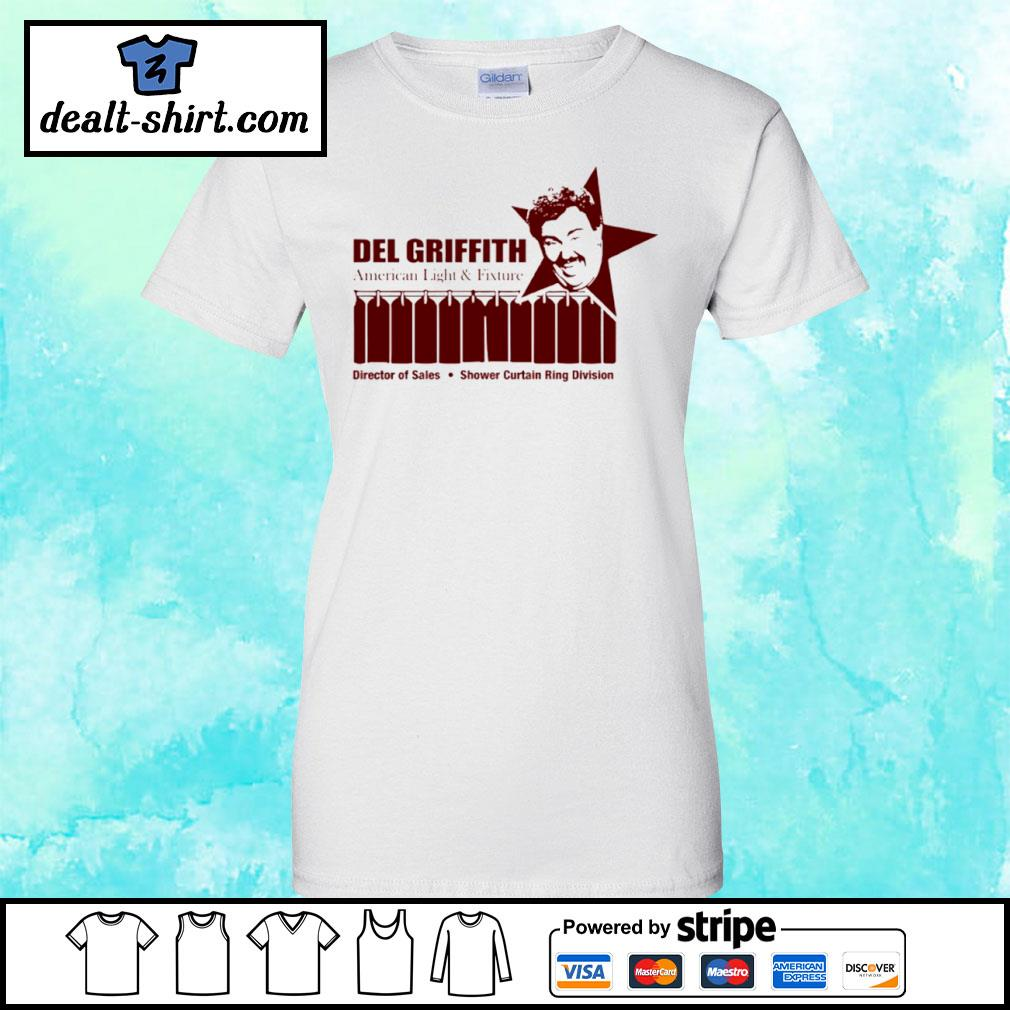 Del Griffith American Light And Fixture Shirt ladies-tee