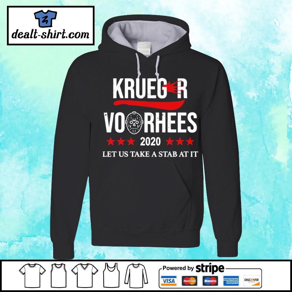 Krueger and Jason Voorhees 2020 s hoodie