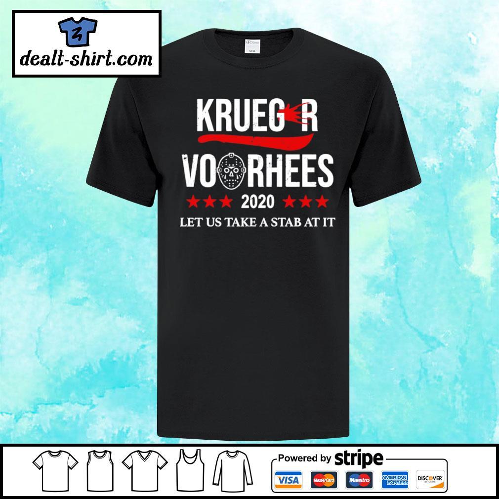 Krueger and Jason Voorhees 2020 shirt