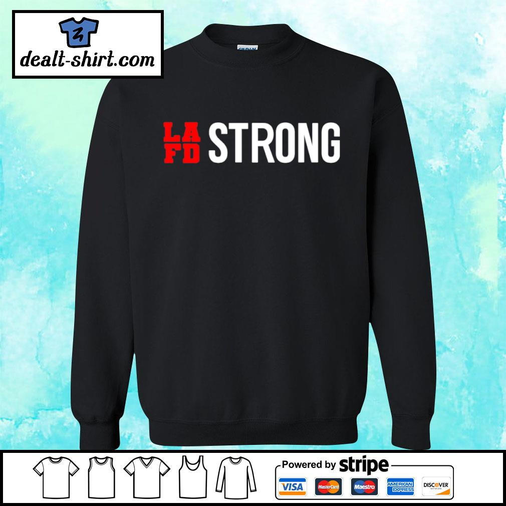 LAFD strong s sweater
