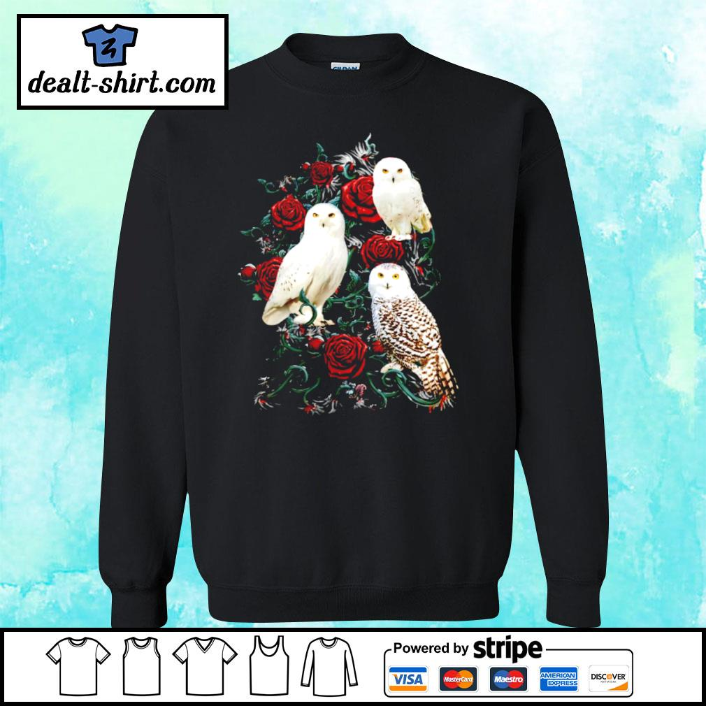 Owl and rose s sweater