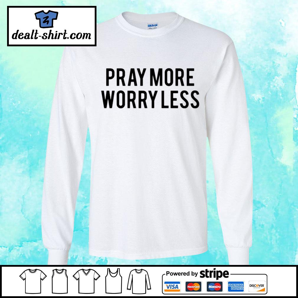 Play more worry less s longsleeve-tee