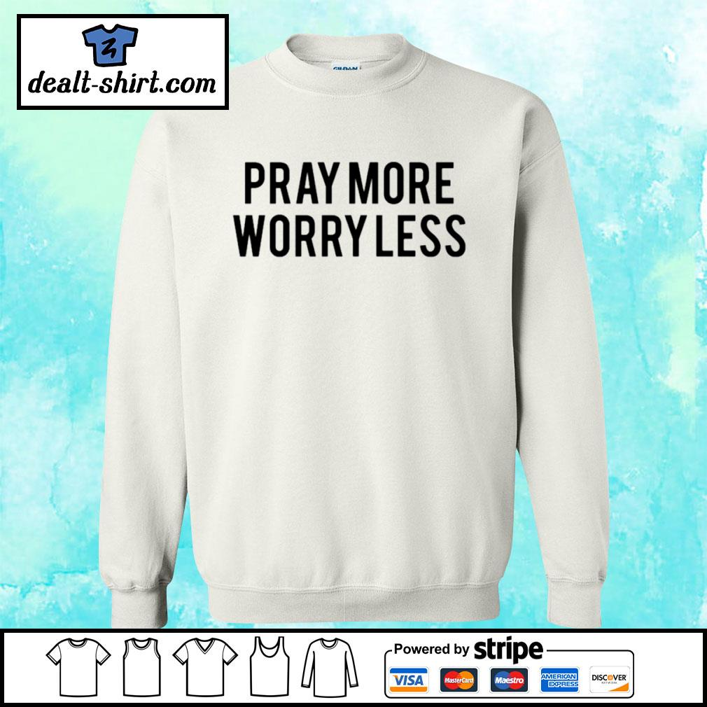 Play more worry less s sweater