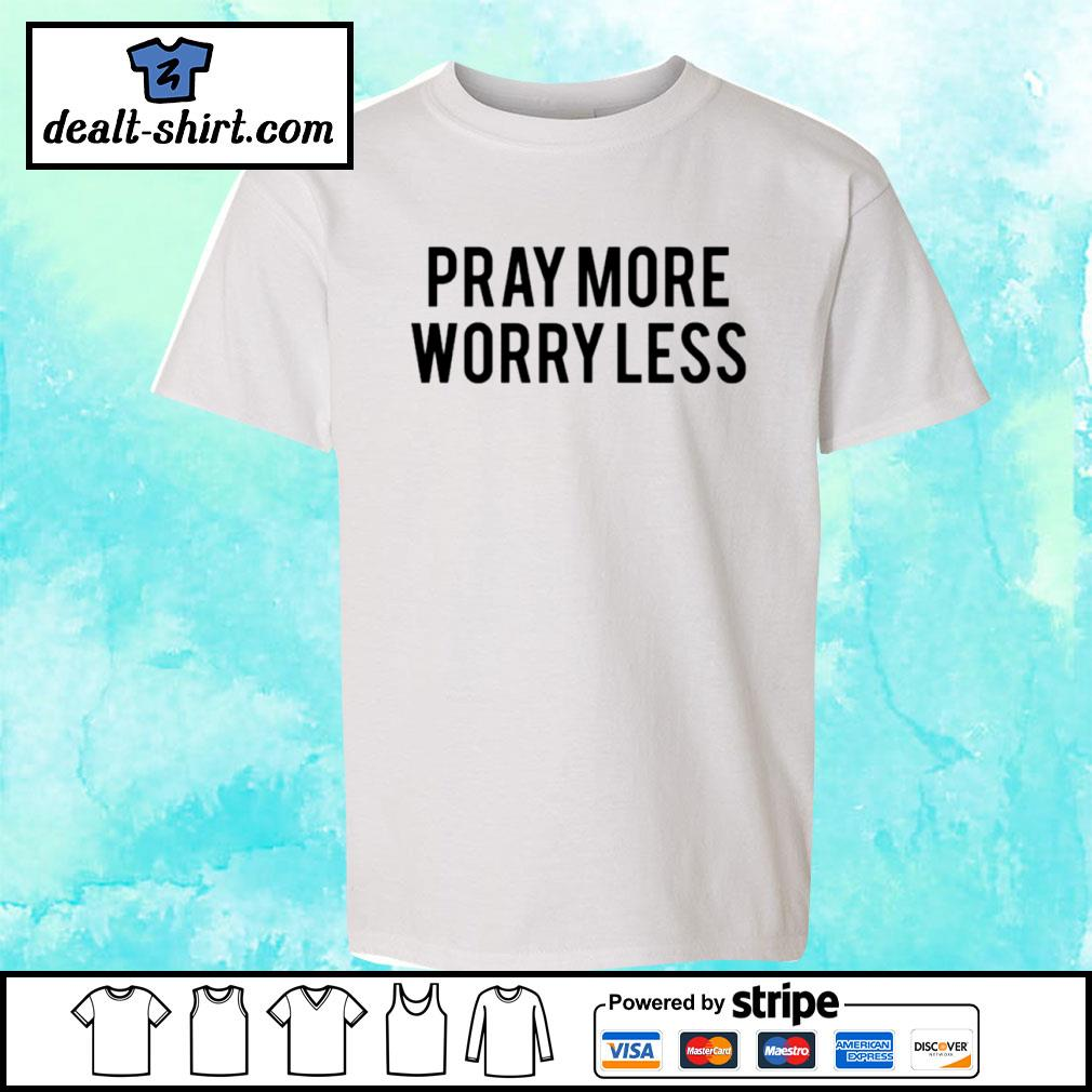 Play more worry less s youth-tee