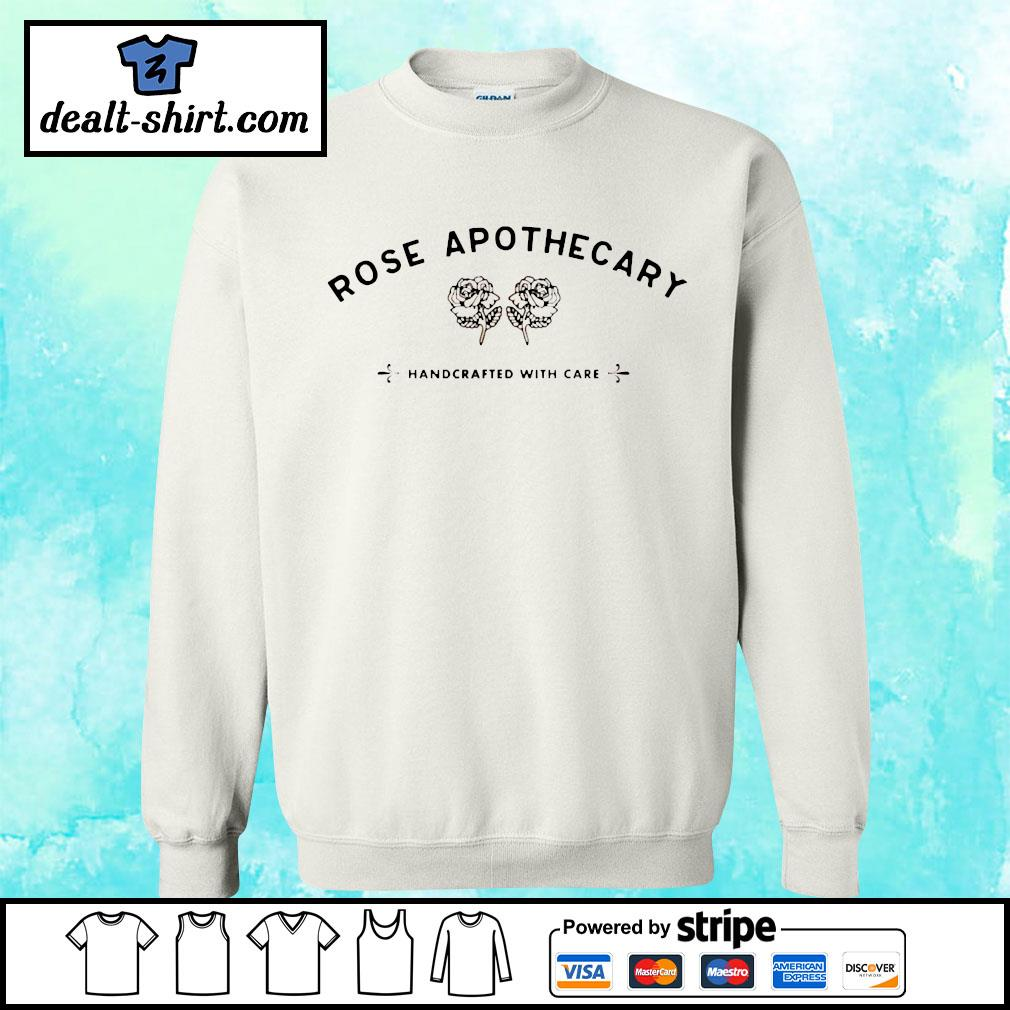 Rose apothecary handcrafted with care s sweater