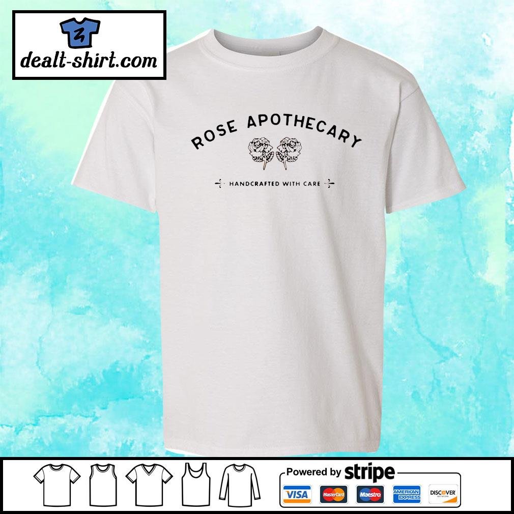 Rose apothecary handcrafted with care s youth-tee