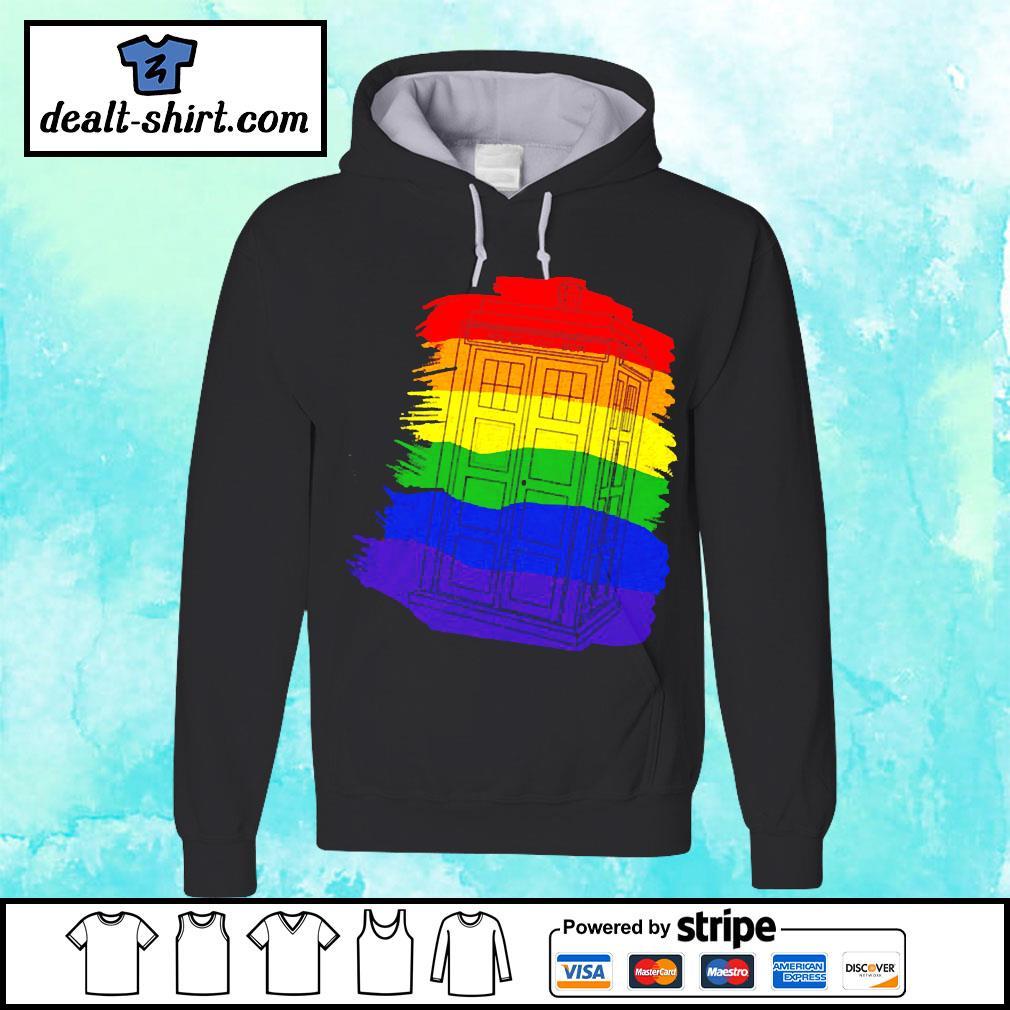 Tardis Gay Pride LGBT s hoodie