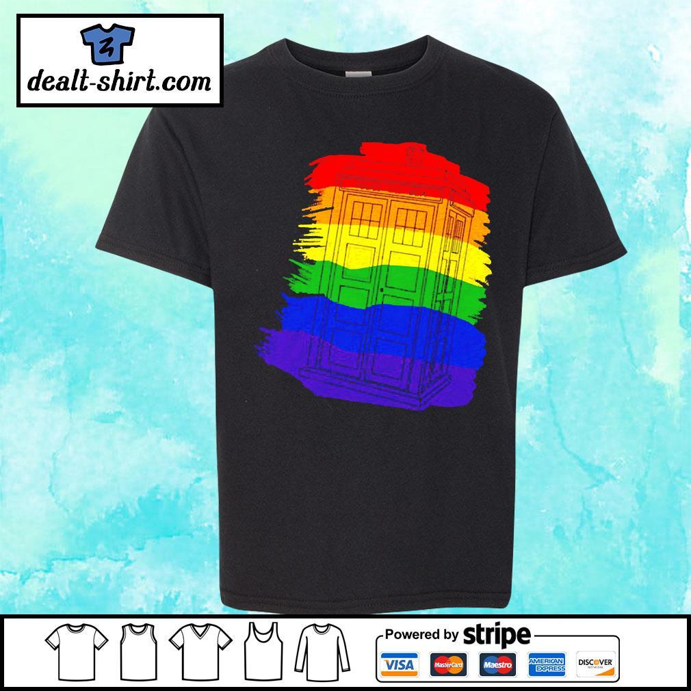 Tardis Gay Pride LGBT s youth-tee