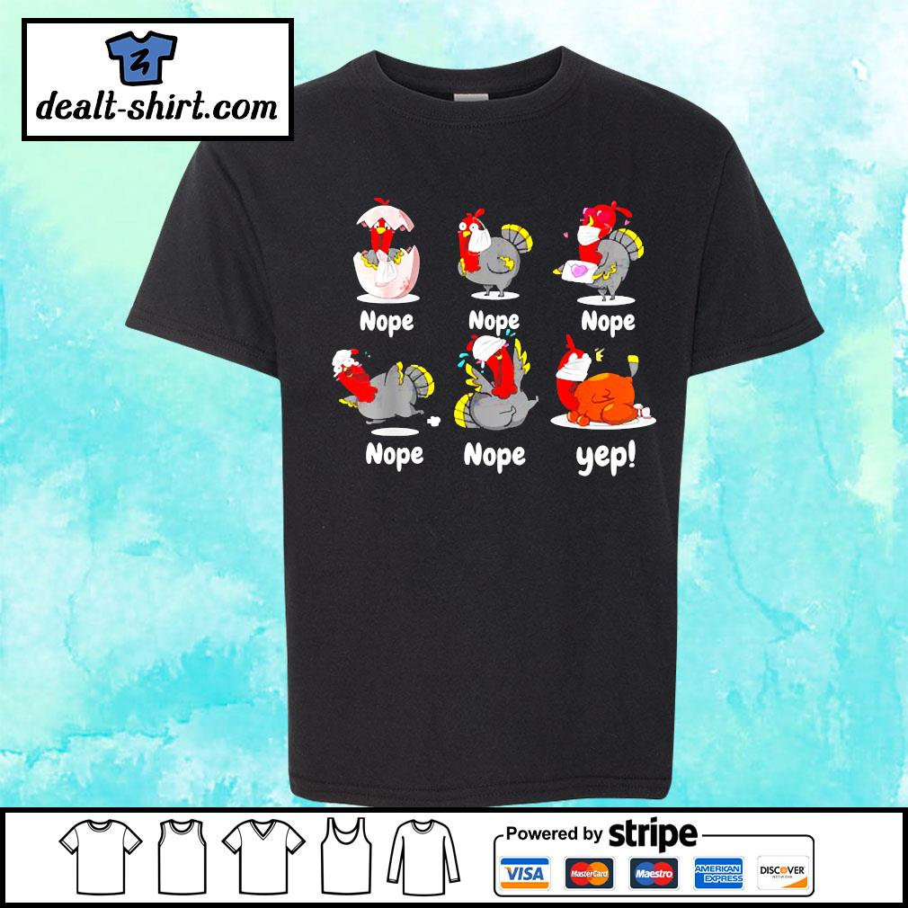 Thanksgiving 2020 Turkey wearing mask wrong funny s youth-tee